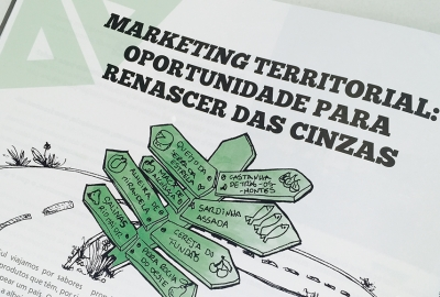 MARKETING TERRITORIAL: OPORTUNIDADE PARA RENASCER DAS CINZAS